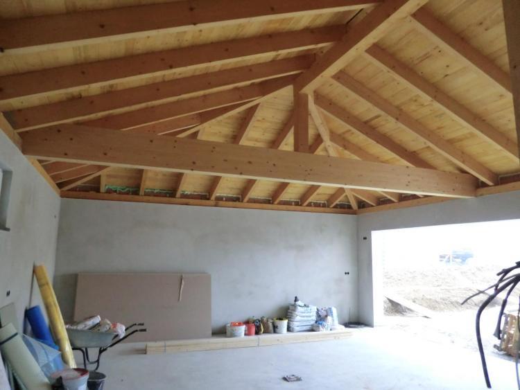 garagendach mit trapezblech trapezblechdach montieren mit. Black Bedroom Furniture Sets. Home Design Ideas